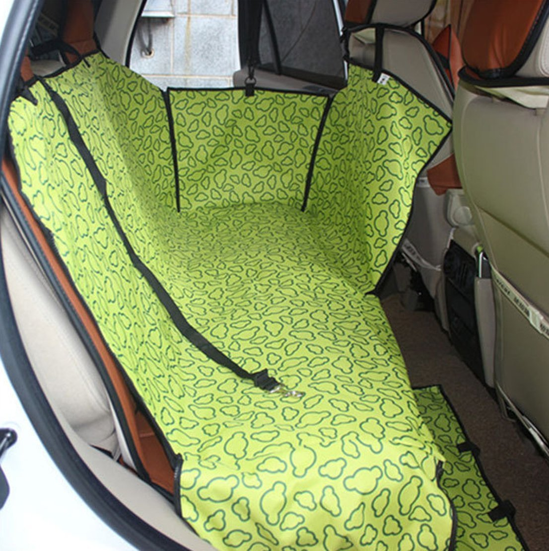 Yiyida Hunde Autositz Doppelsitz F/ür R/ückbank Wasserdicht Hund Sitzbezug F/ür Haustier Abriebfest Hund Sitzbezug Autoschutzdecke Auto Hundedecke Autoschondecke 130x150x55cm