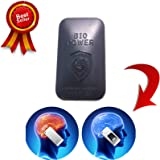 BLACK VORTEX BioShield - Quantum EMF Stress Neutralizer Radiation Shield Sticker for All Cell Phones and Small Tablets – IPhone's 4s/5s/6/6+ and Tested – Removes Effect of EMF – Can Be Moved to a New Case. Does Not Interfere with Signal
