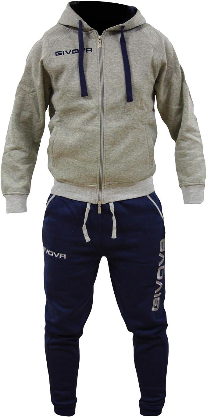 Perseo Sport - Chándal Givova de algodón afelpado con capucha para ...