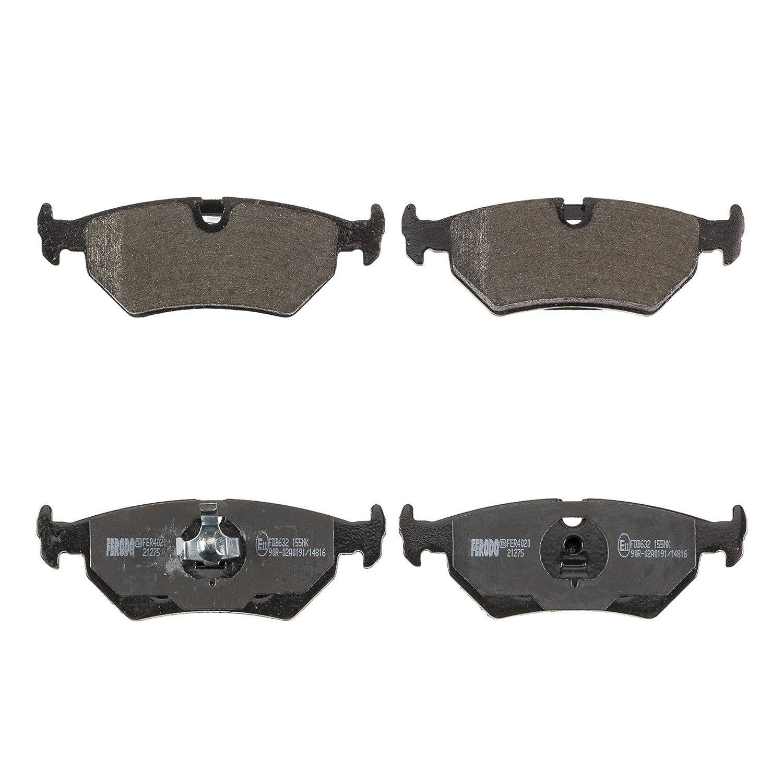 Ferodo FDB632 Low Steel Disc Brake Pad Set