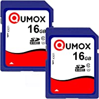 QUMOX 2 x 16GB QUMOX SD HC 16 GB Class 10 UHS-I Secure Digital Memory Card