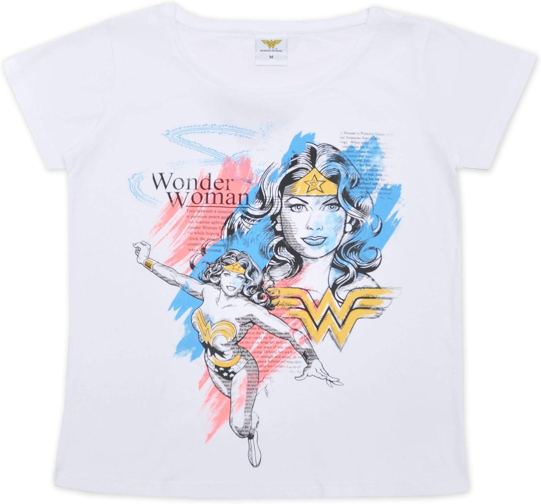 Wonder Woman Maglietta Donna in Cotone