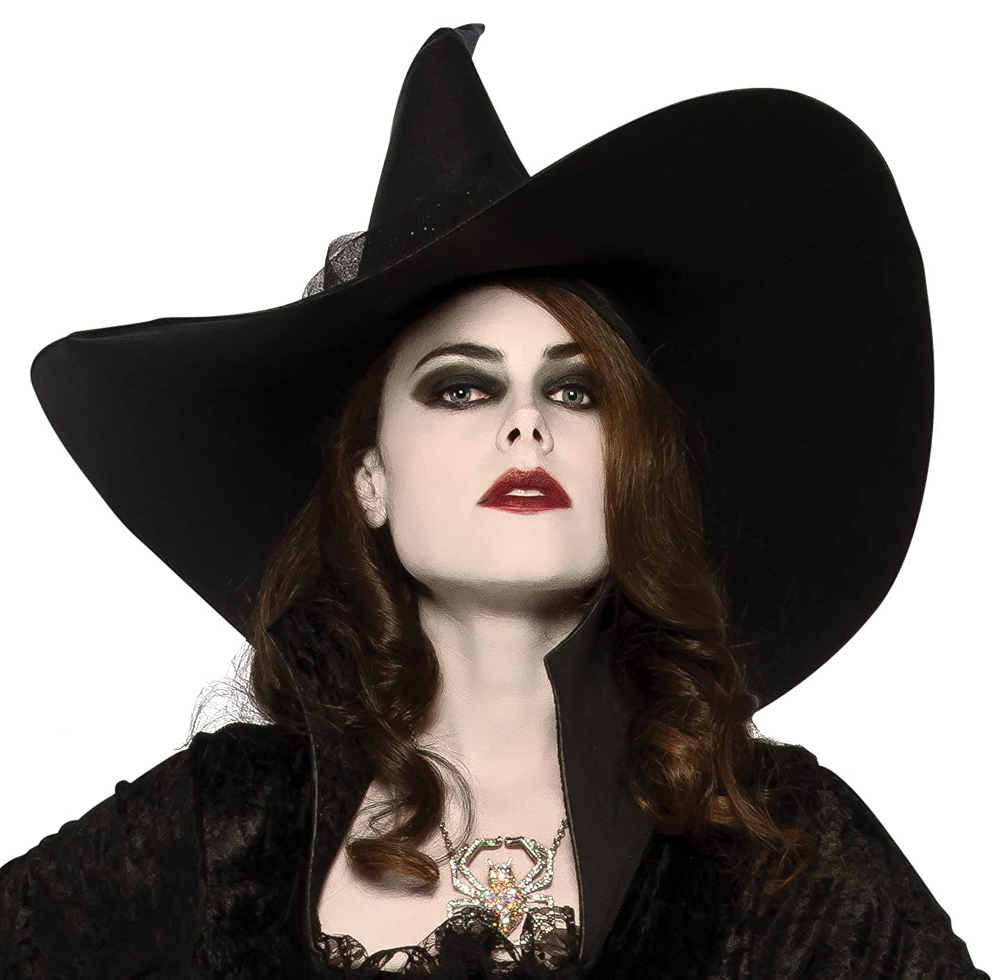 Rubie's Costume Co. Women's Witches Hat Black One Size Rubies Costumes - Apparel 34301