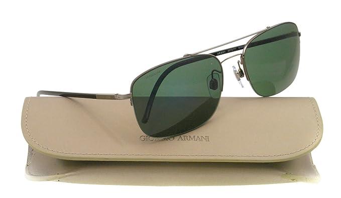 Gafas de Sol Giorgio Armani AR6001 GUNMETAL GREEN: Amazon.es ...