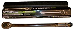Pittsburgh Pro 239 Professional Drive Click Stop Torque Wrench