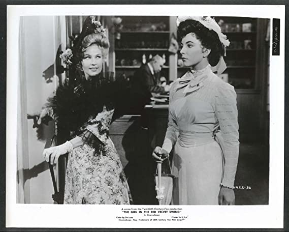 Gale Robbins Joan Collins Girl In The Red Velvet Swing 8x10