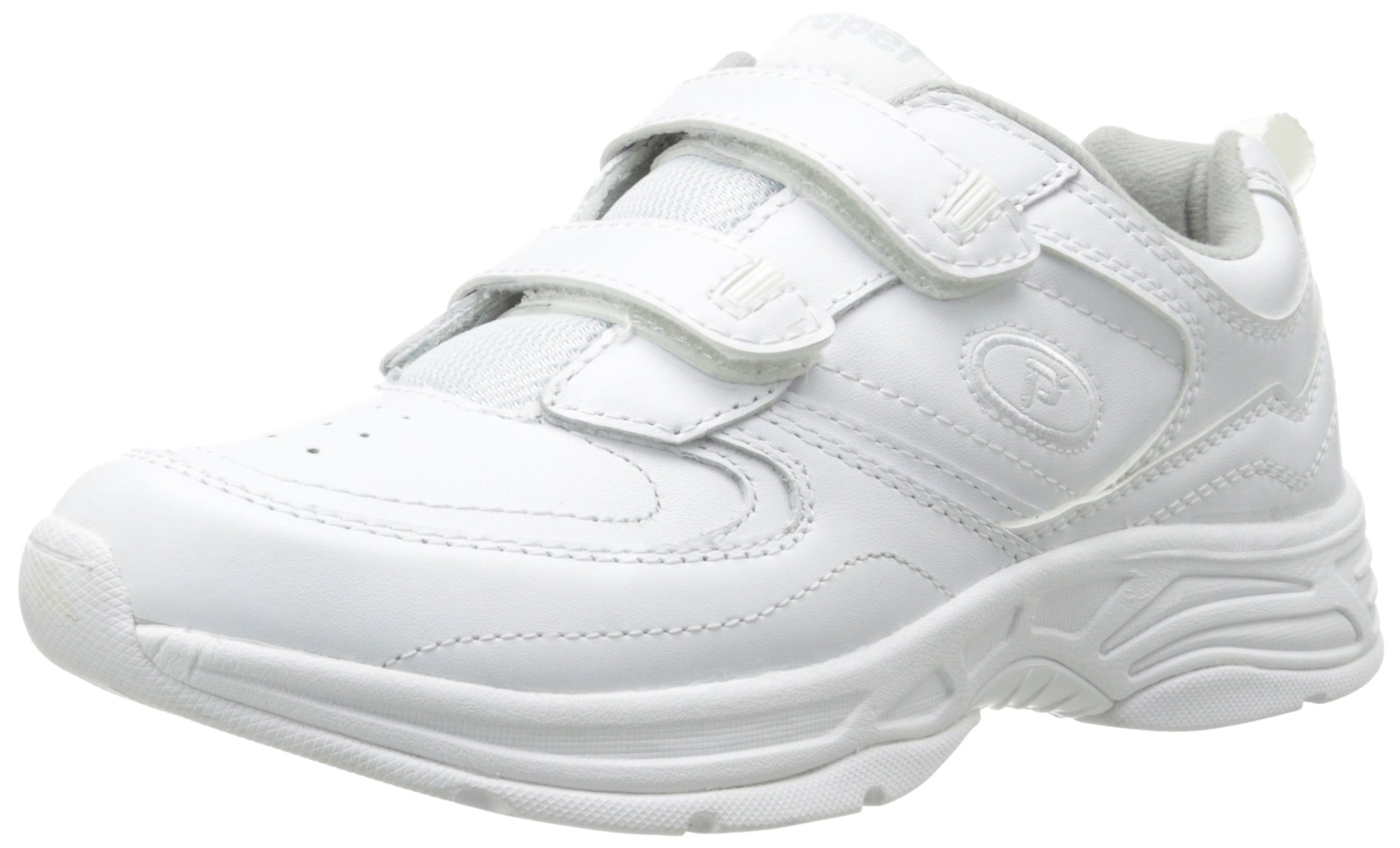 Propet Women's Eden Strap Walking Shoe,White,7 N US