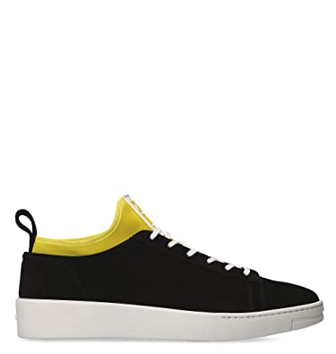 e699c65867 Kenzo Men's F865SN136L5699 Black Suede Sneakers: Amazon.co.uk: Shoes ...
