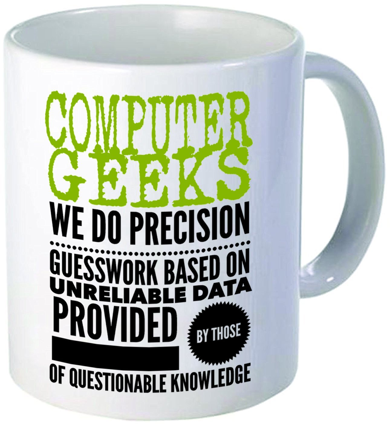 Amazon.com: Funny Mug - Computer Geeks Nerds Engineer Mug Tea Cup ...