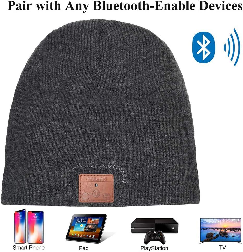 Bluetooth 5 Wireless Winter Warm Knit Hats