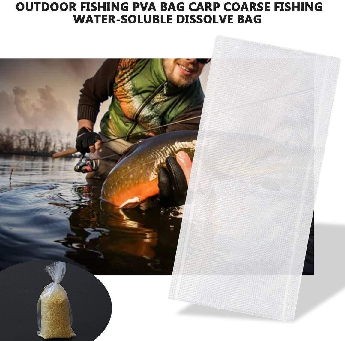 PVA Taschen 20 PVA Schnur Wasser Auflösung Karpfenangeln Material Feeder ZP