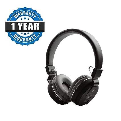 5022c78cd50 Cononics SH12 Wireless/Bluetooth Headphone with FM and: Amazon.in:  Electronics