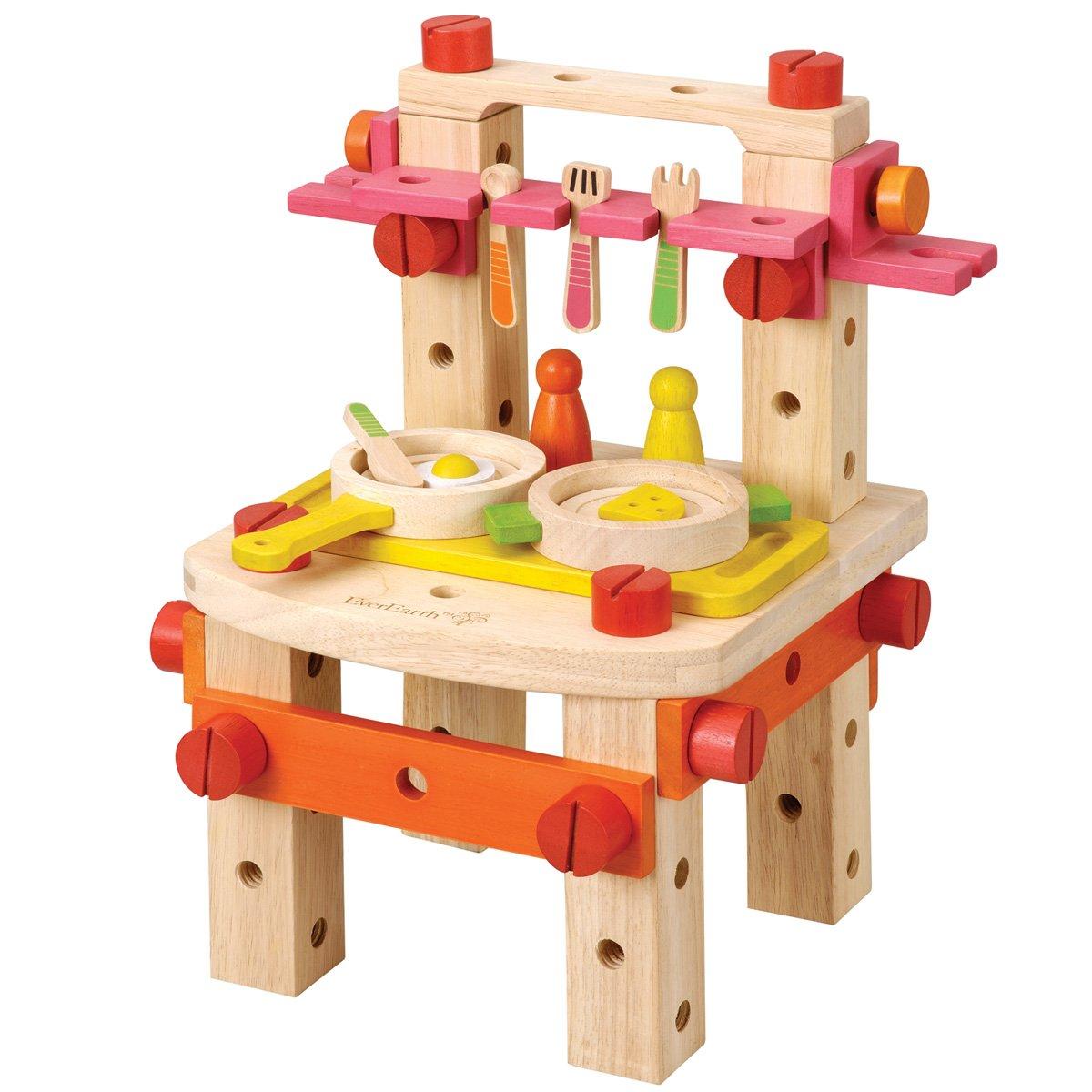 Amazon.com: EverEarth Work Kitchen Set: Toys & Games
