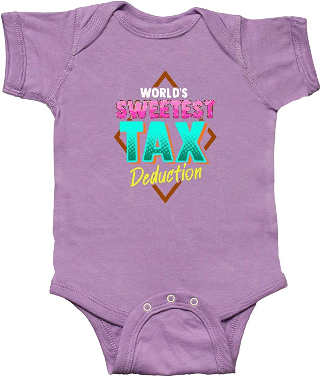 inktastic Tax Deduction Funny Baby Clothes Infant Creeper