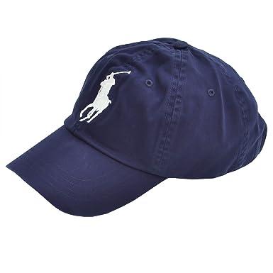 860351d1a27 Ralph Lauren Casquette Bleu Marine Wimbledon pour Homme  Amazon.fr ...