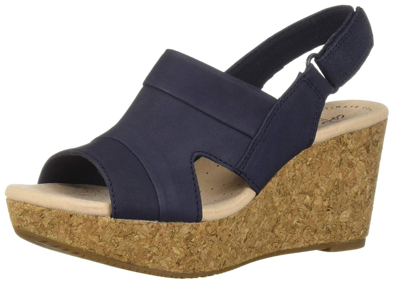 dbe15b3b7c CLARKS Women's Annadel Ivory Wedge Sandal | eBay