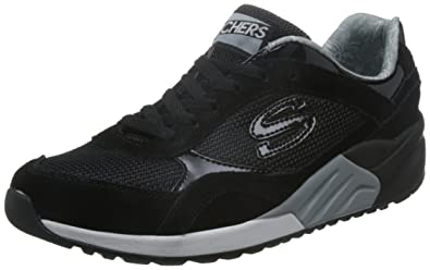 f5bd56d9c9b3 Skechers OG 95 Great Heights Womens Jogger Sneakers Black 6