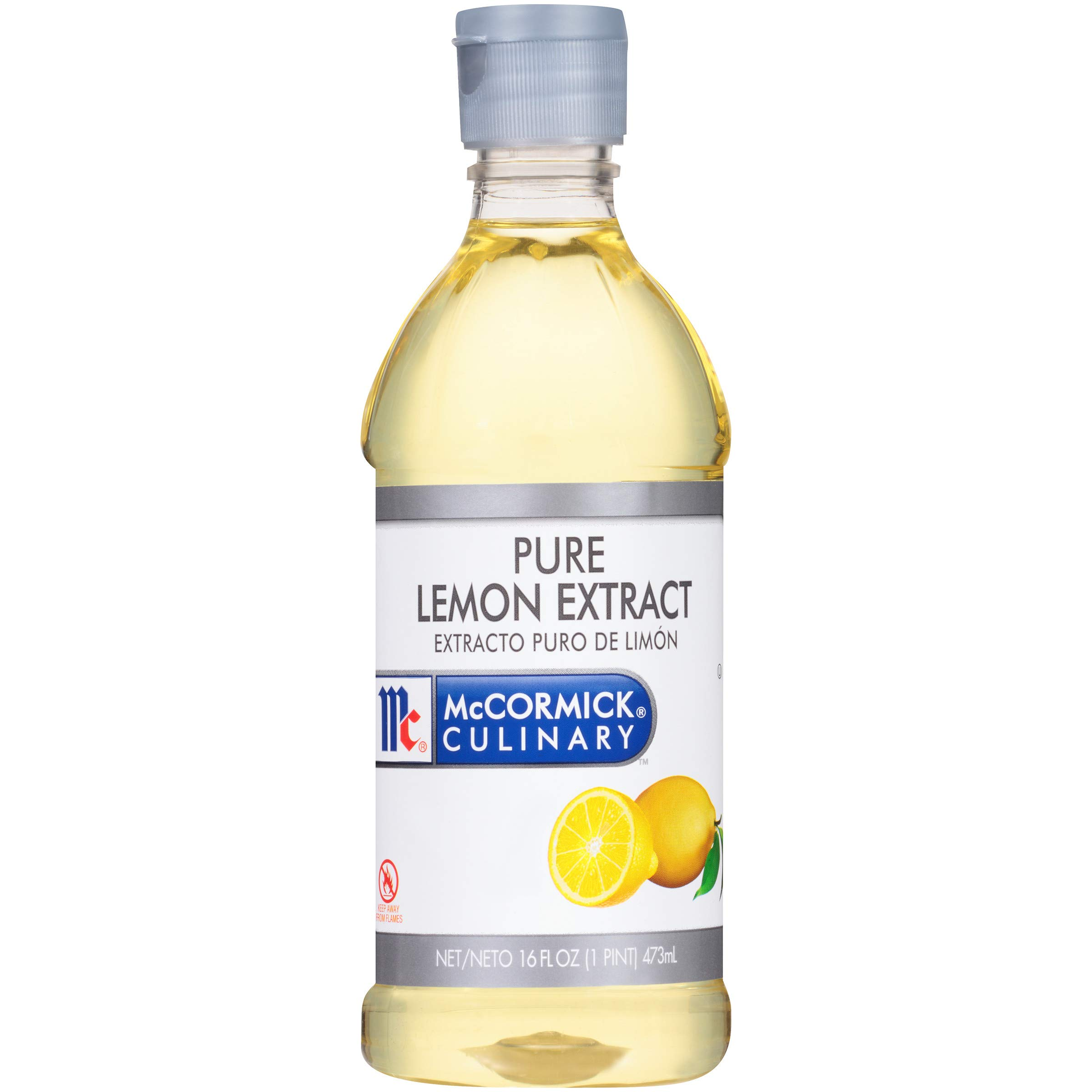 McCormick Culinary Pure Lemon Extract, 16 fl oz