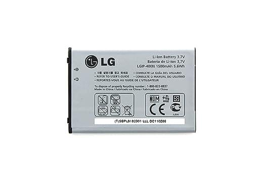 amazon com lg gw820 gw620 gt540 battery lgip 400n sbpp0027401 cell rh amazon com LG GT540 Wert LG GT540 Wert