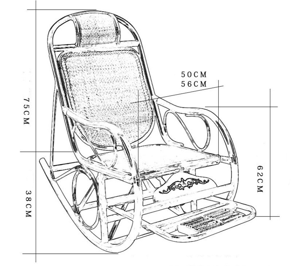 Mode Folding Alter Recliner Alter Folding Mann Nap Break Chair Home Balkon Multi-Funktions-Massivholz-Freizeit-Stuhl Sitz cccd06