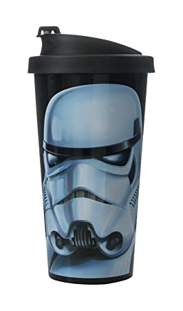 Star Wars 30400005 - Vaso antigoteo con diseño Stormtrooper, color negro: Amazon.es: Hogar