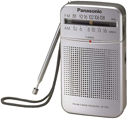 Panasonic AM//FM Pocket Radio