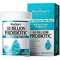 Probiotics 60 Billion CFU - Probiotics for Women, Probiotics for Men and Adults, Natural, Shelf Stable Probiotic…