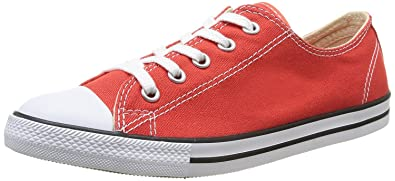 Buy cheap womens converse carnival red dainty all star