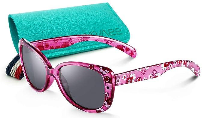 Amazon.com: Gafas de sol de cristal brillante para niñas de ...