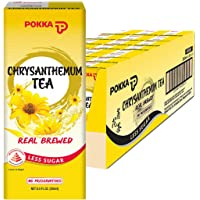 POKKA Chrysanthemum Tea Less Sugar, 250 ml (Pack of 24)