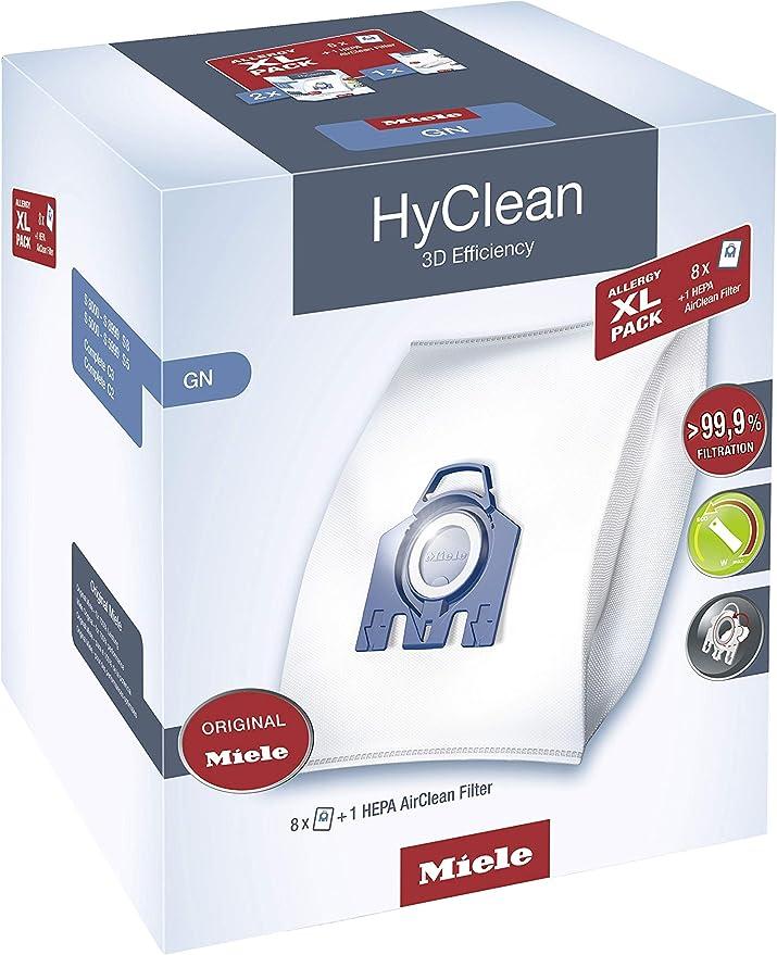 Miele Allergy XL-Pack GN Bolsa para el polvo - Accesorio para aspiradora (Bolsa para el polvo,