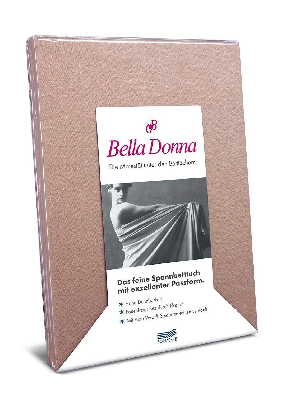 Formesse Bella-Damenschuhe Jersey Spannbettlaken sand, 180x200 - 200x220 cm