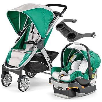 Amazon.com: Chicco Bravo carriola trío sistema con niño S ...
