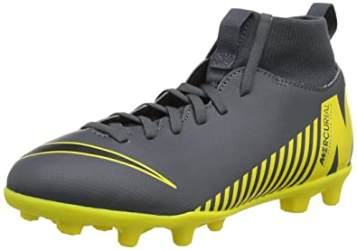 the best attitude a030d 1f8f1 Nike Superfly 6 Club MG, Chaussures de Football Mixte Enfant, Gris (Dark  Grey