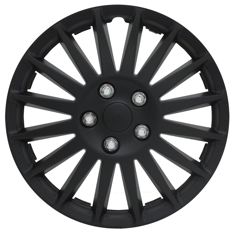 Pilot WH521-15C-B All Black 15' Indy Wheel Cover Pilot Automotive