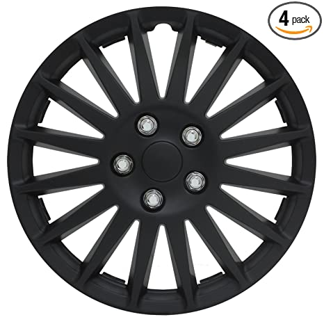 Amazon.com: Cubierta para rueda Indy totalmente en negro, de ...