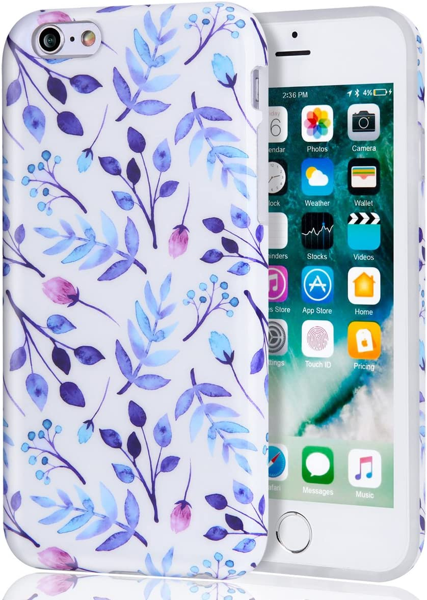 Amazon Com Iphone 6 Plus Case Iphone 6s Plus Case Floral Series