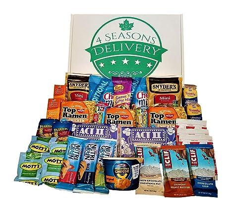 Paquete de regalo para el Colegio Snack, paquete de cuidado ...