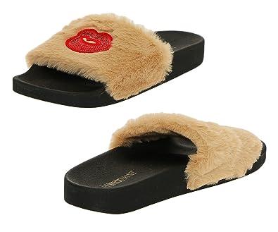 5b881561e708 The White Brand Women s The White Brand Open Back Slippers  Amazon ...
