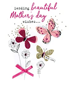Mother's Day Card Beautiful Mothers Day Wishes Irresistible Embellished Greeting Cards