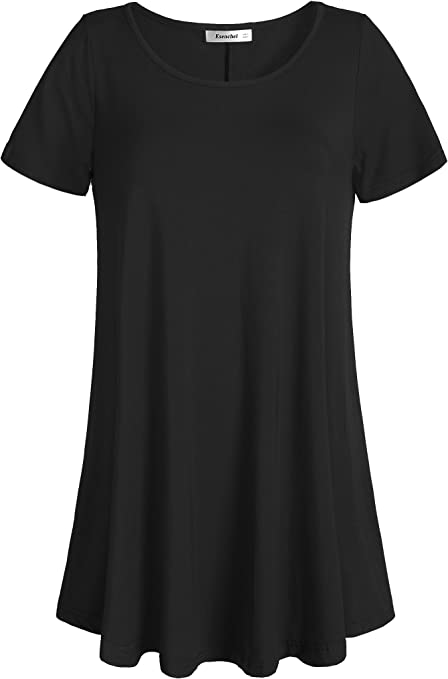 Eaktool Womens Loose Tunic T-Shirt Top