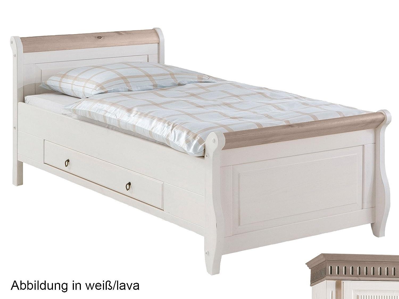 einzelbett wei 100 200. Black Bedroom Furniture Sets. Home Design Ideas