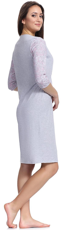 Be Mammy Damen Stillnachthemd BE20-138