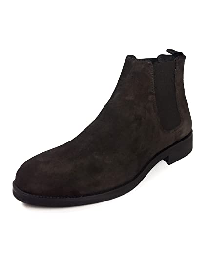 57a077747e0 Zara Men's Brown Leather Sporty Ankle Boots 5061/302: Amazon.co.uk ...