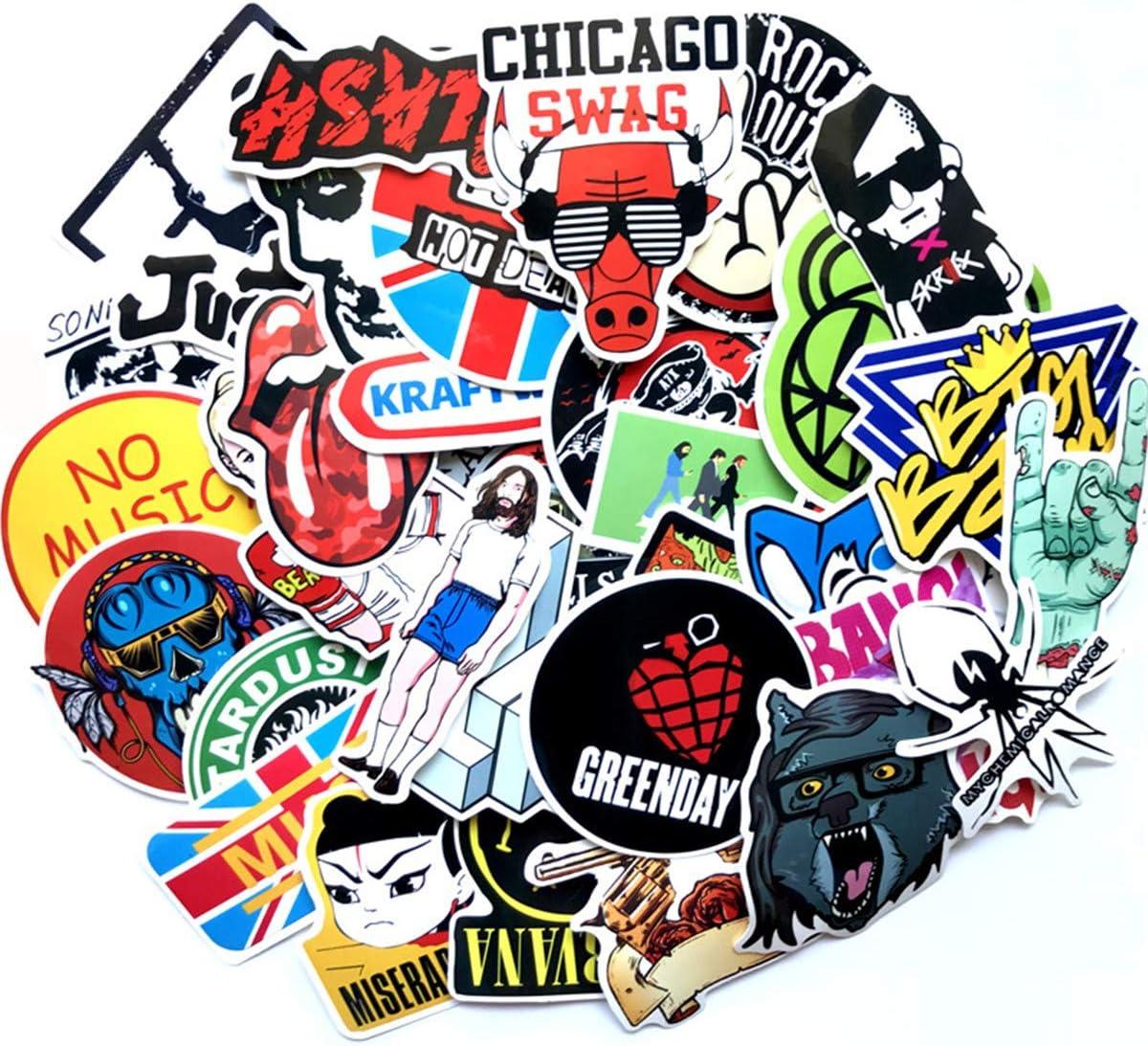 "3/"" My Chemical Romance Rock Band Music Vinyl Car Sticker Decal"