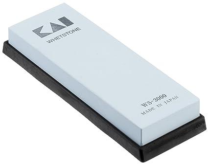 Kai Europe WS-3000 - Piedra para afilar Cuchillos, granulado 3000