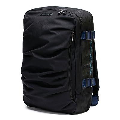 chic YUMC School Organizer Shoulder 15.6 Inch Ranipak Wave Design Backpack Bag, Dawn/Black, One Size