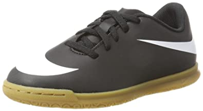 Nike Unisex-Kinder Bravatax Ii Ic Fußballschuhe, Schwarz (Black/White/Black), 37.5 EU