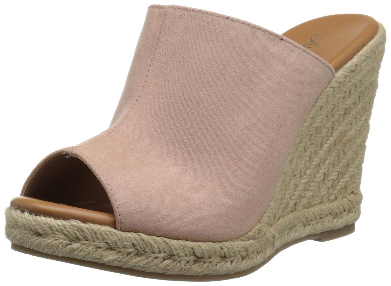 Athena Alexander Women's Marlowe Espadrille Wedge Sandal B01BXCPKR6 11 B(M) US|Blush Suede