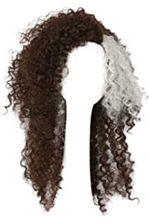 Topcosplay Peluca Afro para Mujer, Cosplay Bellatrix Lestrange ...